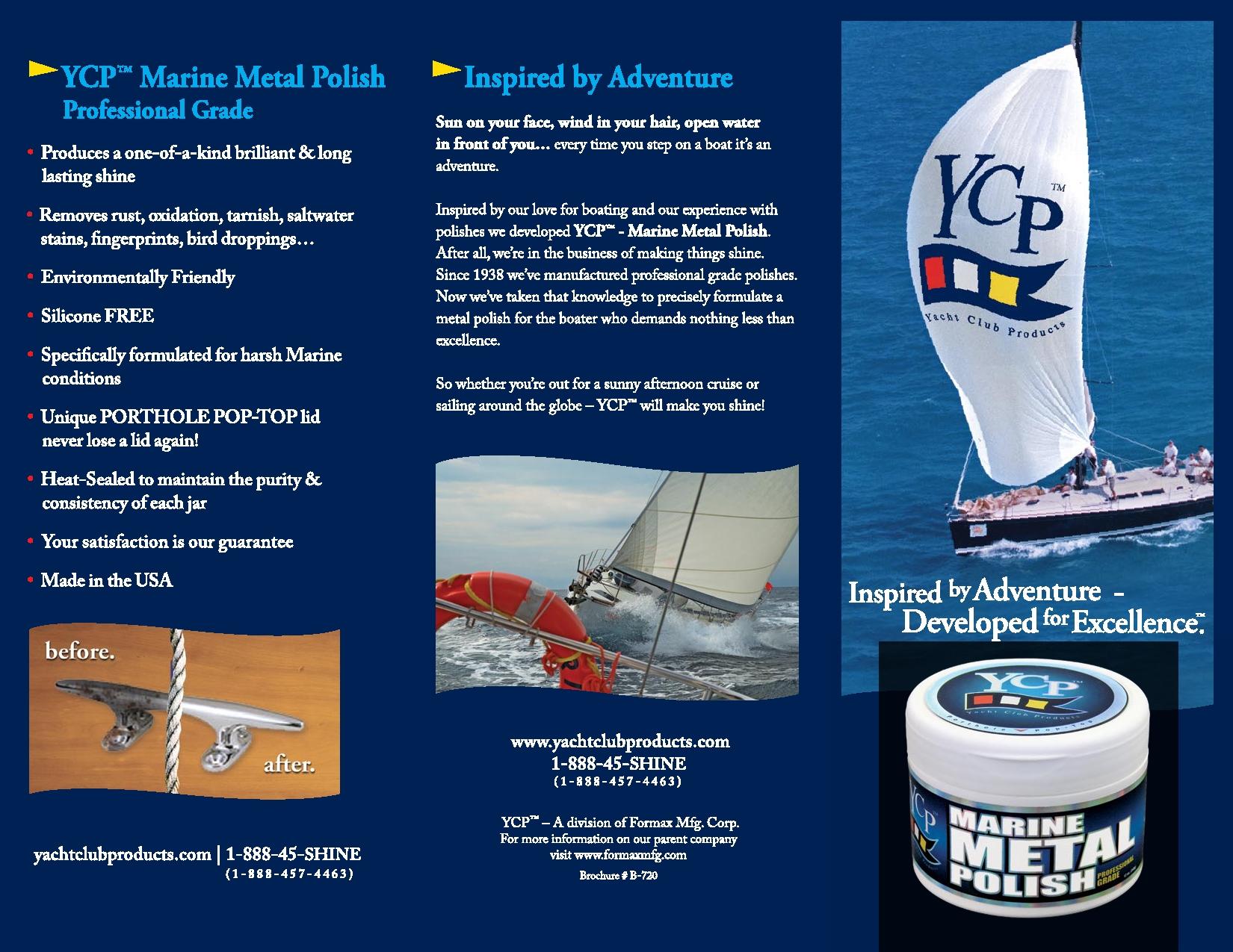 YCP™ MARINE METAL POLISH | Formax Manufacturing