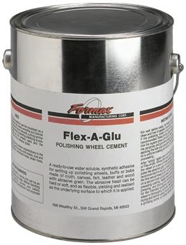 FLEX-A-GLU POLISHING WHEEL CEMENT