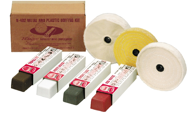 METAL AND PLASTIC BUFFING KIT